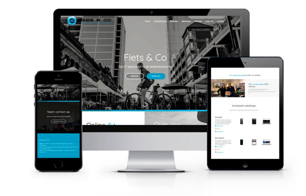 Celina Klarenbeek - website Fiets & Co