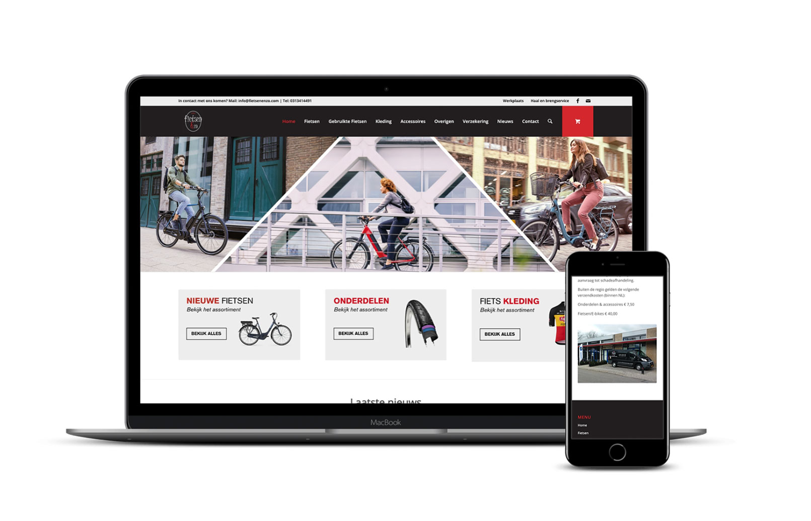 Celina Klarenbeek - fietsen & zo