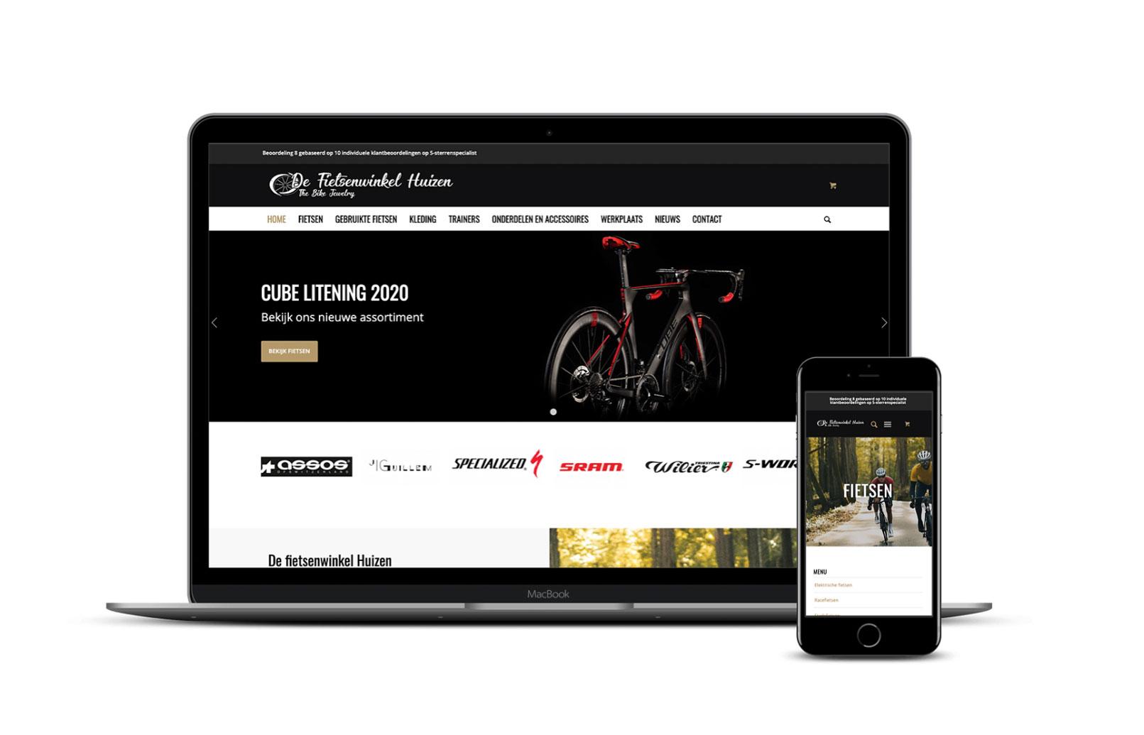 Celina Klarenbeek - fietsenwinkel huizen